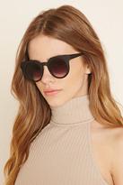 Forever 21 FOREVER 21+ Matte Round Sunglasses