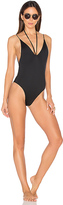 Minimale Animale Kamikaze One Piece Swimsuit in Black. - size S (also in XS)