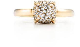 Tiffany & Co. Paloma's Sugar Stacks ring in 18k gold with diamonds