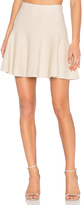 1 STATE Flounce Mini Skirt