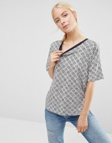 French Connection Medina Tile Tee
