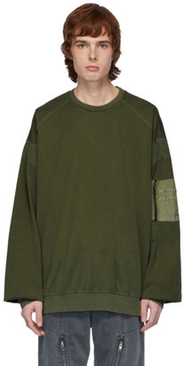 Juun.J Khaki Long Sleeve T-Shirt