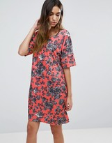 Girls On Film Floral Skater Dress
