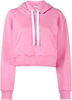 Natasha Zinko Pink cropped hoodie