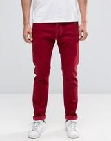 Diesel Tepphar Skinny Jeans 856Y Red Overdye Wash