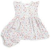Ralph Lauren Baby's Two-Piece Floral-Print Fit-&-Flare Dress & Bloomers Set