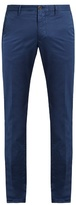 Incotex Skinny-fit Cotton-blend Chino Trousers