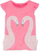 Carter's Swans T-Shirt, Little Girls and Big Girls