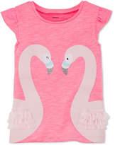 Carter's Swans T-Shirt, Little Girls & Big Girls
