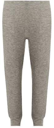 Raey Slim-fit cashmere-blend track pants