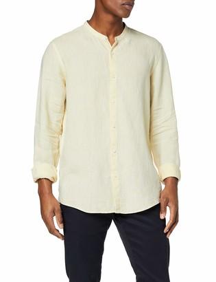 Find. Amazon Brand Men's Long Sleeve Linen Shirt