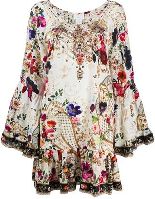 Camilla Fairy Godmother silk dress