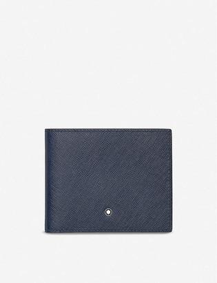 Montblanc Sartorial 6cc saffiano leather wallet