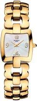 Balmain Women's Pretty B 23mm Gold Plated Bracelet & Case Quartz MOP Dial Analog Watch B2610.33.85