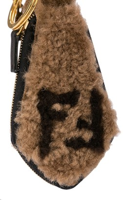 Fendi Shearling Key Chain