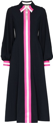Roksanda Kabru contrast-stripe shirt dress