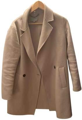 Jigsaw Beige Wool Coat for Women