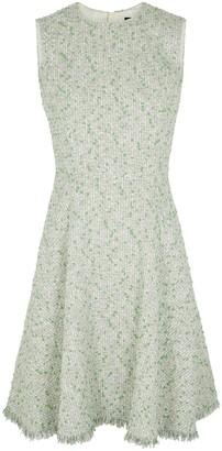 Paule Ka Green boucle-tweed dress