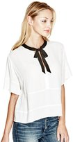 GUESS Lorna Tie Blouse