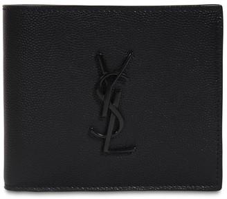 Saint Laurent Eastwest Grain Leather Wallet