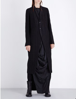 Rick Owens Tusk wool coat