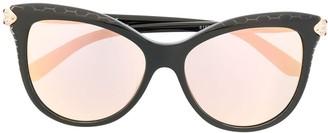 Bvlgari Cats Eye Tinted Sunglasses