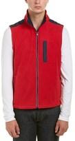 Brooks Brothers Polar Fleece Vest.