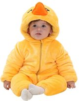 FashionFits Baby Unisex Winter Cute Duck Onesie Fancy Dress Party Costume Pajama 80