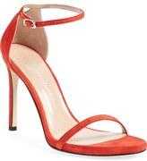 Stuart Weitzman 'Nudistsong' Ankle Strap Sandal (Women)