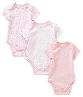 Little Me Baby Girls Newborn-9 Months Damask Scroll 3-Pack Bodysuits