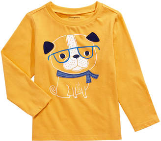 First Impressions Baby Boys Cotton Smart Dog T-Shirt