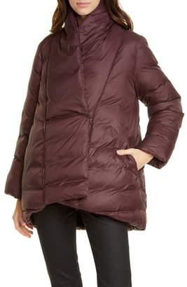 Eileen Fisher Shawl Collar Down Coat