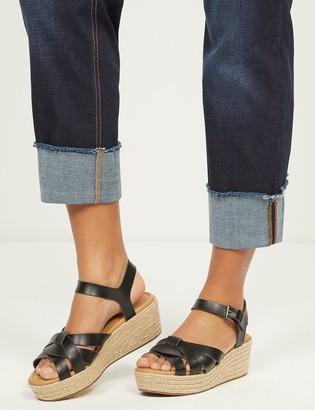 Lane Bryant Espadrille Wedge Ankle-Strap Sandal