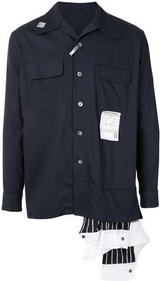 Maison Mihara Yasuhiro Hem Layer shirt
