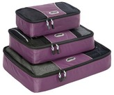 eBags Packing Cubes - 3pc Set (Eggplant)