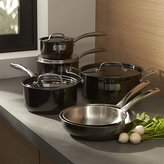 Crate & Barrel Fleischer and Wolf London Titanium Stainless Steel 10-Piece Cookware Set
