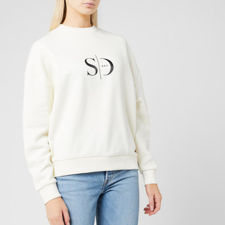 Superdry Women's Edit Slouchy Crew Neck Sweatshirt