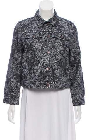 Marc Jacobs Cropped Embellished Jacket w/ Tags