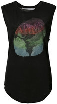 Raquel Allegra printed tank top