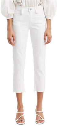 Levi's Stud-Trim Boyfriend Jeans