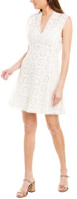 Stellah Eyelet Mini Dress