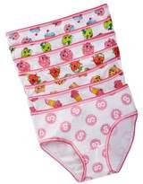 Intimo Shopkins Knit Briefs - Pack of 7 (Little Girls & Big Girls)