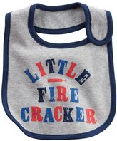 "Carter's Baby Little Fire Cracker"" Bib"
