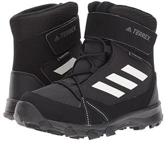 adidas Outdoor Kids Terrex Snow CF CP CW (Little Kid/Big Kid) (Black/Chalk White/Black) Kid's Shoes