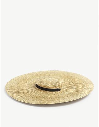 Jacquemus Le Chapeau Santon straw hat