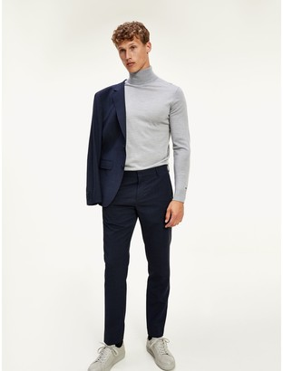 Tommy Hilfiger Regular Fit TH Flex Suit Pant in Houndstooth