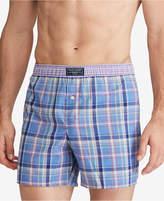 Polo Ralph Lauren Men's Plaid Boxers