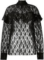 Awake sheer lace blouse