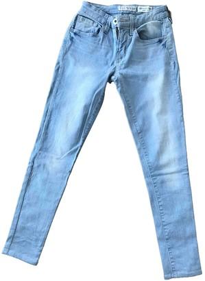 GUESS Blue Cotton Jeans for Women