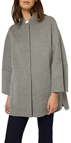 Jaeger Double Faced Wool Cape Coat, Grey